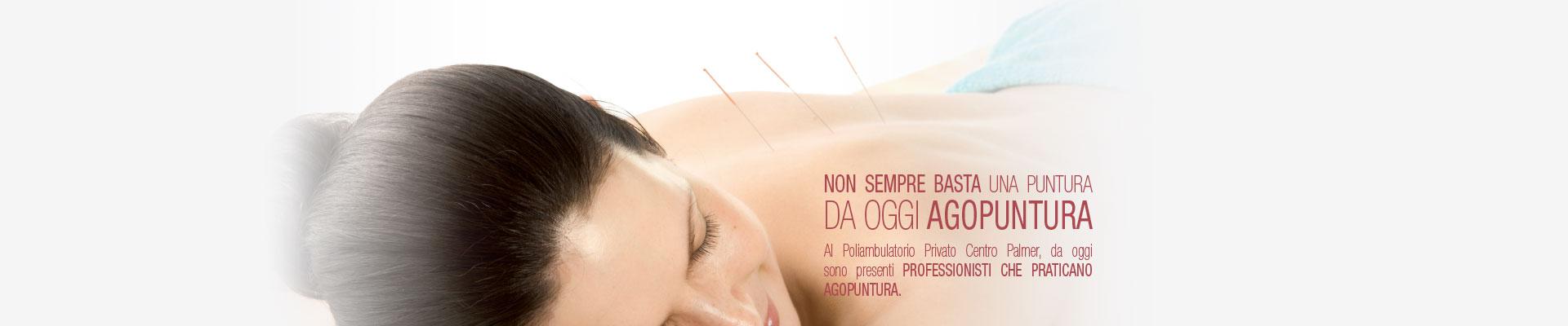 Da oggi Agopuntura - Centro Palmer