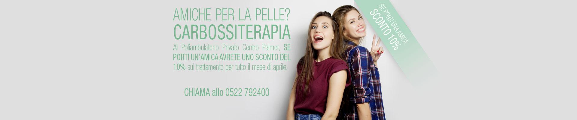 Promozione Carbossiterapia 2018 - Centro Palmer - Slide