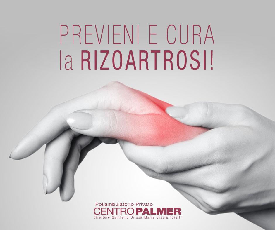 PREVENZIONE E TRATTAMENTO DELLA RIZOARTROSI Promo Fisioterapia e Ortopedia aprile Centro Palmer - post