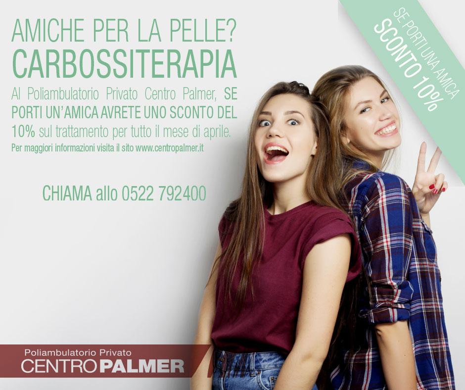 Promozione Carbossiterapia 2018 - Centro Palmer - Post