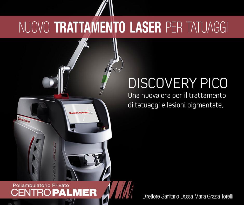 Discovery Pico Laser - Centro Palmer - Post