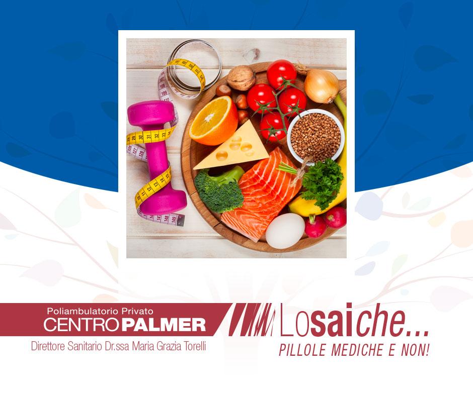 Lo Sai Che…nella pratica sportiva l'alimentazione riveste un ruolo cruciale? Pillole mediche del Centro Palmer.