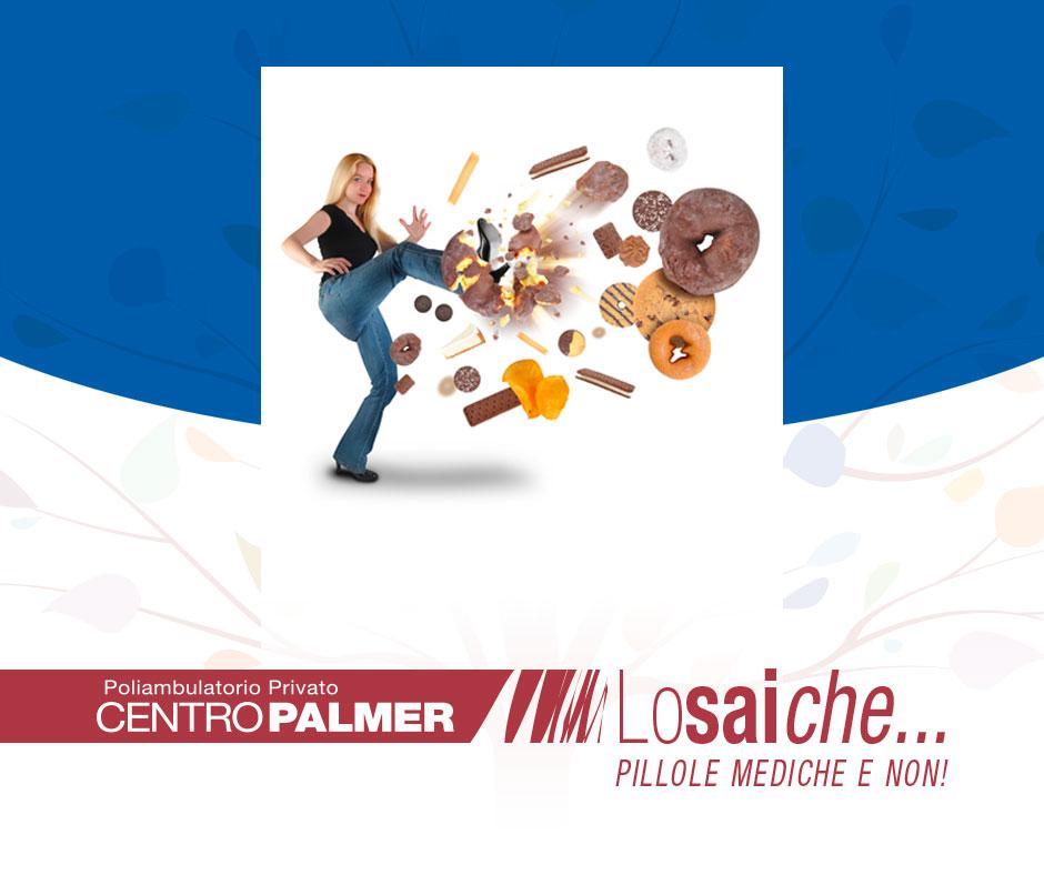 Lo sai che...alimentazione e salute sono legate da un filo sottile? Pillole mediche del Centro Palmer.