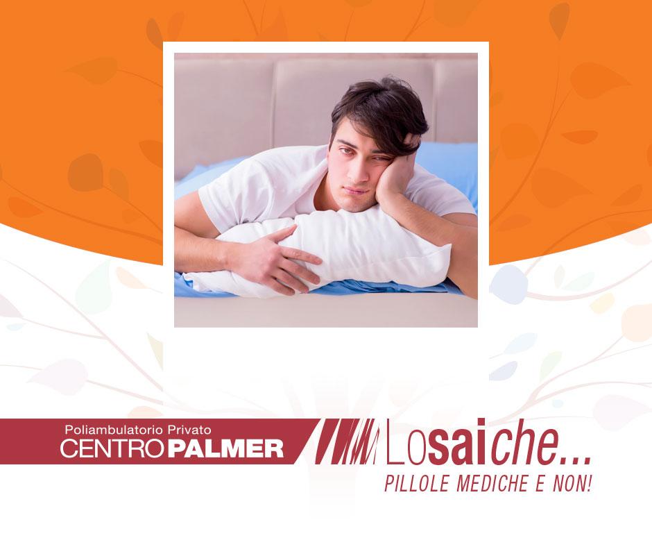 Lo sai che...con uno spillo puoi vincere l'insonnia? Pillole mediche del Centro Palmer.