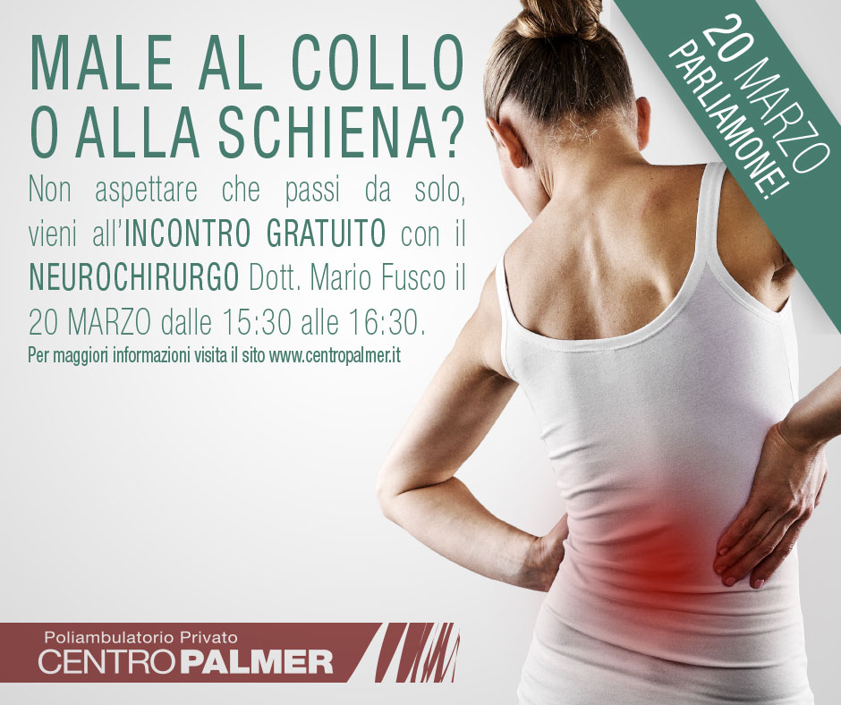 Post Evento Neurochirurgia 2018 - Centro Palmer