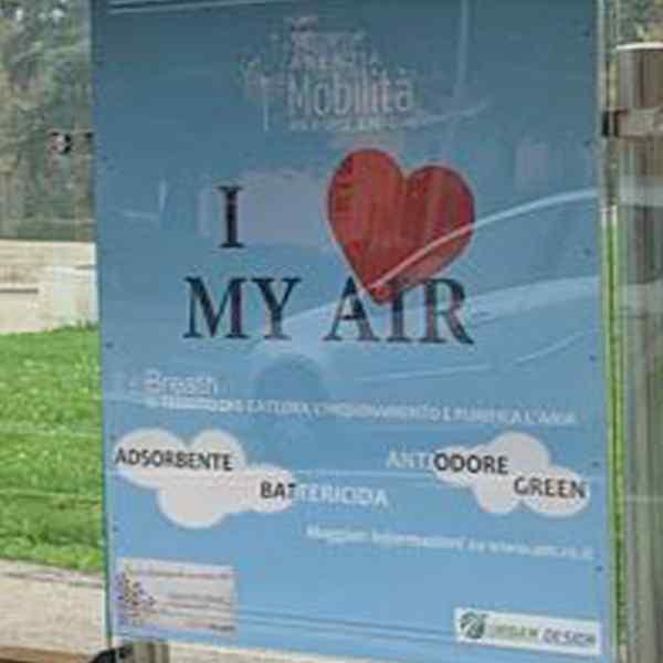 I LOVE MY AIR: AGENZIA MOBILITÀ SPERIMENTA LE FERMATE CHE RESPIRANO