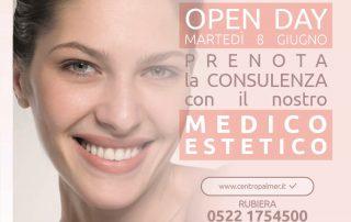 OPEN DAY al Centro Palmer Rubiera con i prodotti cosmetici di TEOXANE.