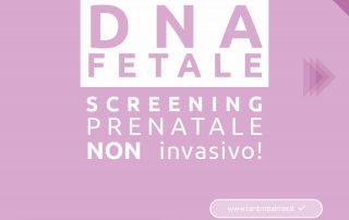 Campagna DNA Fetale del Poliambulatorio Privato Centro Palmer a Reggio Emilia e Rubiera. Post 1