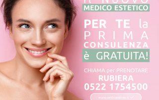 Medico Estetico del Centro Palmer di Rubiera con prima consulenza gratuita